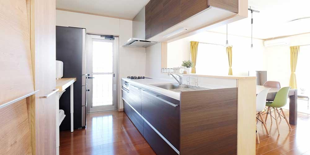 活水器ディレカと家庭の台所
